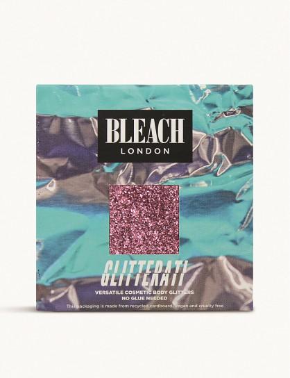 BLEACH Glitterati body glitter 4g Rose / shimmering pink body makeup