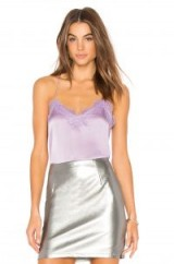 CAMI NYC THE RACER CHARMEUSE CAMI – lavender camisoles