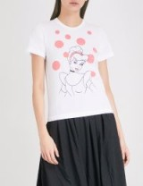 COMME COMME DES GARCONS Cinderella-print cotton-jersey T-shirt / printed tees