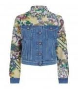 Etro Floral Denim Jacket