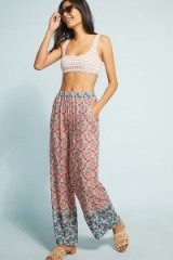 Aldomartins Iona Beach Trousers   red printed pants
