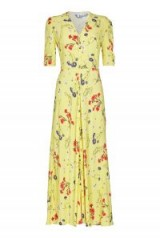 GHOST MARLEY DRESS Sunday Flowers ~ yellow vintage style dresses