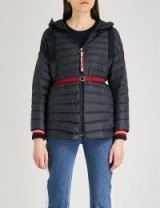 MONCLER Benitoite hooded shell-down jacket Navy – blue padded jackets