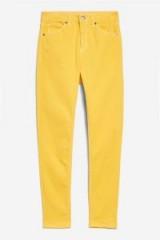 TOPSHOP MOTO Mango Jamie Jeans | yellow denim