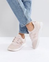 New Balance 247 Luxe Trainers In Pink Nubuck – sports luxe