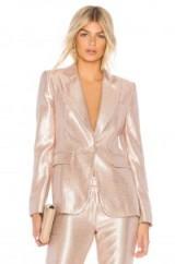 RACHEL ZOE DEBRA JACKET / shiny luxe jackets