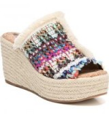 SAM EDELMAN Dina Wedge | multi-coloured wedges