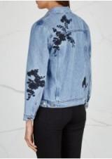 SAMSØE & SAMSØE Jayda embroidered denim jacket ~ floral jackets
