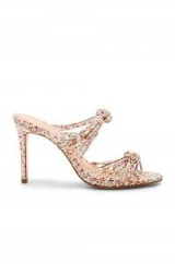 Schutz CHANDRA SANDAL / floral front knotted mules