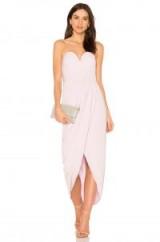 Shona Joy U WIRE BUSTIER DRESS – strapless lilac party dresses