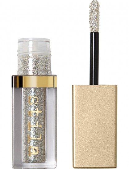 STILA Glitter and Glow liquid eyeshadow Diamond Dust / shimmering silver eyeshadows