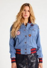 Tommy Hilfiger x GIGI HADID Denim jacket | blue denim bomber