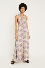 UO Maria Plunging Wide-Leg Jumpsuit – floral prints