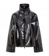 Valentino Sheer Plastic Jacket ~ black transparent jackets