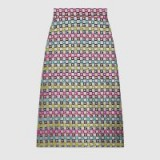 GUCCI Velvet G lurex skirt ~ rainbow coloured skirts