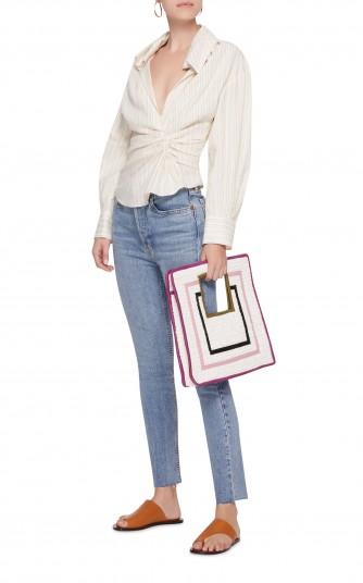 Sophie Anderson Aika Raffia Tote   stylish straw bags