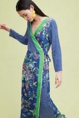 Seen Worn Kept – Anselma Printed-Wrap Midi Dress / mixed florals