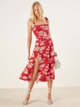 Reformation Arielle Dress Nairobi | ruffle trim | summer style