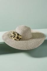 Anthropologie Delmare Floppy Hat | wide brimmed hats | summer accessory