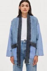 Native Youth Denim Kimono Jacket | oriental inspiration
