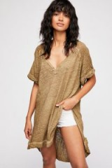 We The Free Diego Tee in Taupe | oversized slouchy tops