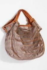 Giorgio Brato Emilia Distressed Tote | metallic handbags | boho chic