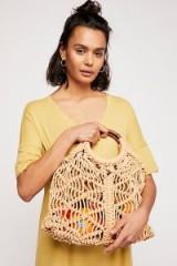Anthropologie Esmerelda Macrame Tote in natural | summer bags