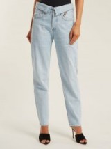 JEAN ATELIER Flip fold-over jeans ~ new denim styles