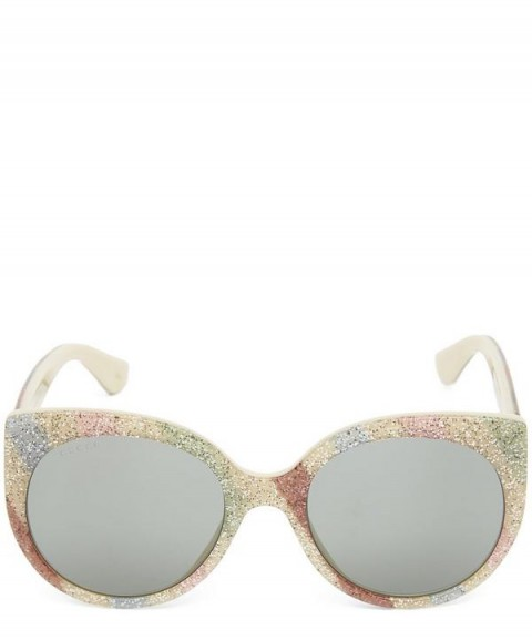 GUCCI GG0325S Sunglasses / cat-eye rainbow frames