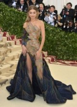 Gigi Hadid's ethereal look at the 2018 Met Gala was thanks to this beautiful Versace gown, which resembled butterfly wings | celebrity event dresses | models glamour