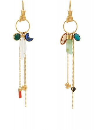 GRAINNE MORTON Hand Drop Earrings | statement charm jewellery