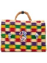 HEIMAT ATLANTICA Love bag | multicoloured straw handbags