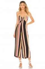 House of Harlow 1960 X REVOLVE JOELLE JUMPSUIT red multi stripe | summer style