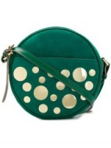 L'AUTRE CHOSE round embellished crossbody bag / green handbags
