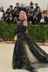 Rita Ora at the 2018 Met Gala dressed in Prada – style – celebrity – gowns