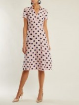 HVN Morgan polka-dot silk dress | vintage style summer event frocks | wedding guest outfit