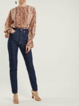 EMILIA WICKSTEAD No. Twenty Eight high-rise jeans ~ straight tailored denim