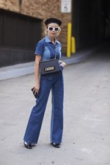 Stylish double denim