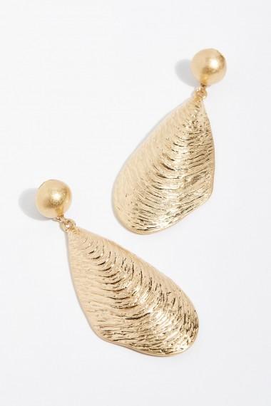 Free People Oyster Shell Earrings | seaside inspired statement jewellery