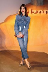 Alexa Chung wearing double denim…who said it can't be done!