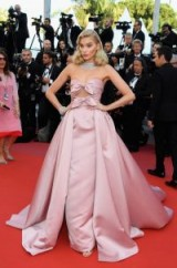 Elsa Hosk at the Cannes Film Festival in May 2018. Red carpet gowns ~ celebrity style