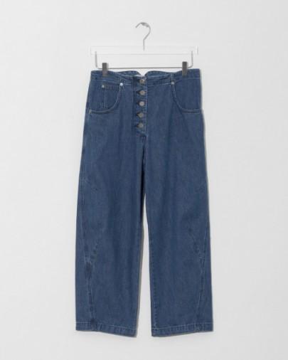RACHEL COMEY elkin pant   cropped leg button fly jeans