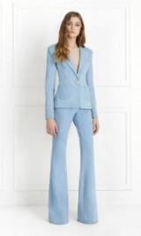 Rachel Zoe Jordan Light Denim Wide-Leg Pants ~ flared jeans