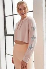 STRUT THIS Star Hoodie Blush Pink | cropped hoodies
