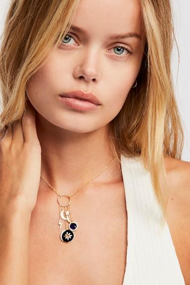 Tai Moon Pendant | celestial necklaces