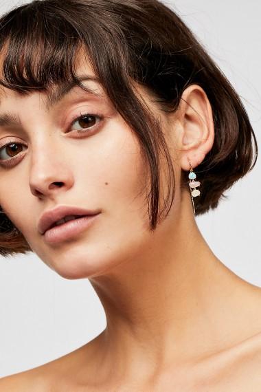 Tai Opal Threaders | gemstone drop earrings