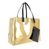 Tommy Hilfiger Iconic Tommy Tote Mirror Metallic | gold shoppers