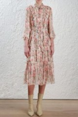 Zimmermann Folly Neck Tie Dress – $358.00