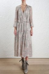 $310.00 Zimmermann Stranded Garland Dress
