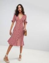 Faithfull buttondown midi dress in danica floral – vintage style summer fashion